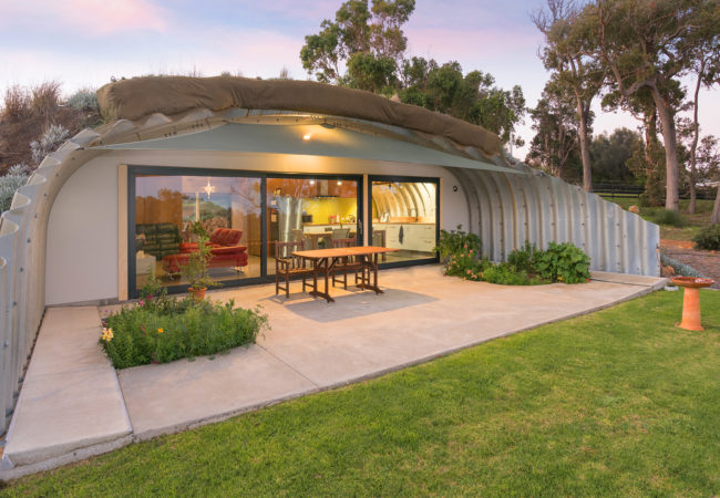 Earth Sheltered house Quindalup