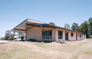 Jed and Claire's Timbercrete Passive Solar Home