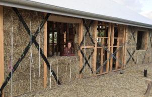 Folk Of All Trades Strawbale Home