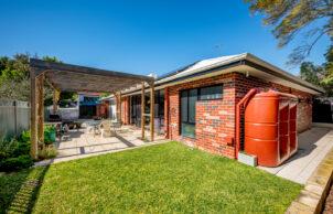 Tom's Passive Solar Home